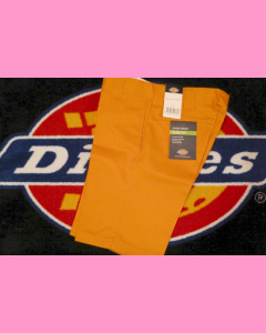 Energy Orange Dickies Slim Straight Work Shorts
