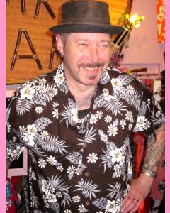 Dark Brown Bahamas Hawaiian Shirt