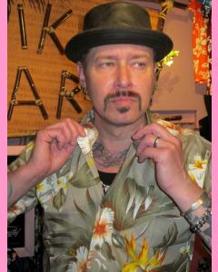 Beige Montana Hawaiian Shirt