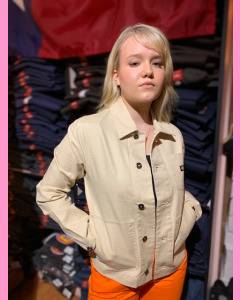 Light Taupe Dickies Toccoa Jacket