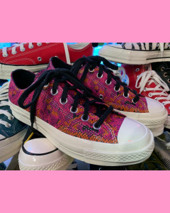 Psychedelic Leather Converse 70's Hi