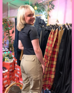 Black Dickies Meldrim Ladies Combat Pants