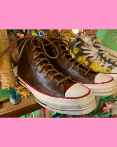 Converse 70´s All Star Hi, Clove Brown  Leather