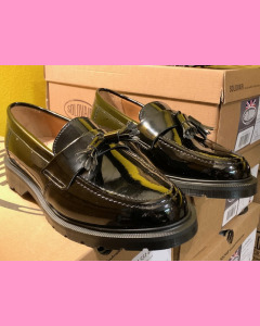 Black Patent Leather Solovair Loafer