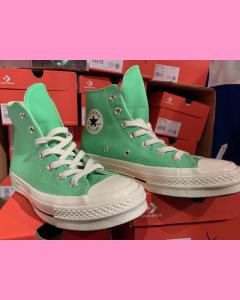 Illusion Green Converse 70's Hi