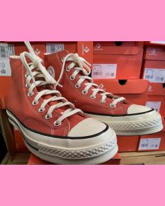 Terracotta Pink Converse 70's Hi