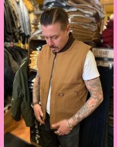 Brown Duck Dickies Duck Canvas Vest