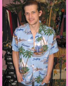 Blue Kauai Shirt