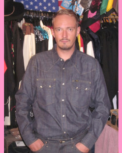Lee 101 Western 50's Denim Shirt
