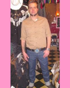Lee 101 Straight Leg OZ 13 Raw Denim Jeans