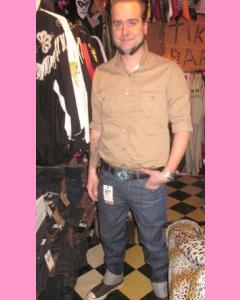 Lee 101 Zip Fly OZ 13 Raw Denim Jeans
