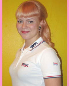 White Lonsdale Ladies´s Pol