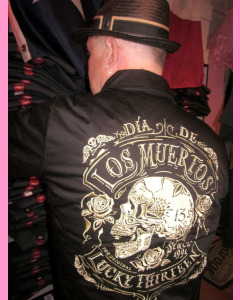 Lucky 13 Dead Skull Work Jacket