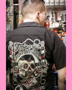 Barberia Los Muertos Work Shirt
