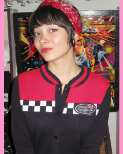 Miss Fortune Racer Girl Cardigan