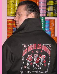 Los Dias De Los Muertos Work Jacket
