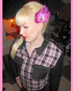 Pink Plaid Jacket