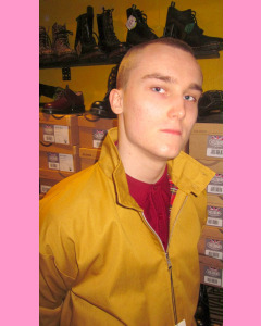 Mustard Harrington Jacket