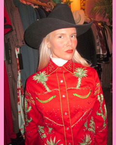 Red Rockmount Ladies Porter Wagoner Shirt