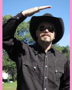 Black Saddle Stitch Rockmount Western Shirt