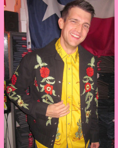 Rockmount Floral Bolero Jacket