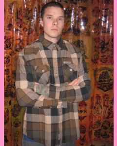 Brown Seattle Flannel Shirt