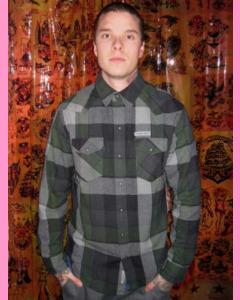 Green Tucson Flannel Shirt