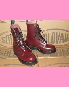 Oxblood Solovair 11 Hole Soft Cap Derby Boot