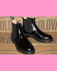 Black Solovair Dealer Boot
