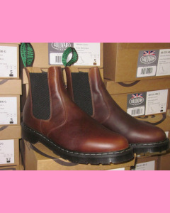 Solovair Brown Gaucho Crazy Leather Dealer Boot