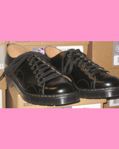 Black Solovair Monkey Shoes