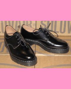 Black Solovair 3 Hole Soft Cap Gibson Shoe
