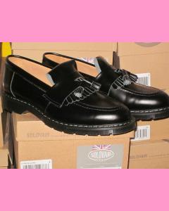 Black Solovair Tassel Loafer Shoe