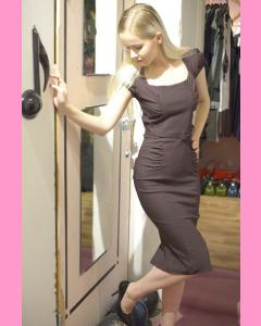 Chocolate Lindsay Dress
