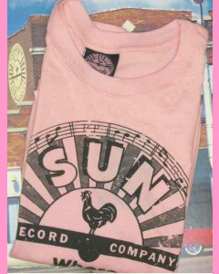 Pink Ladies Sun Records Logo Tee