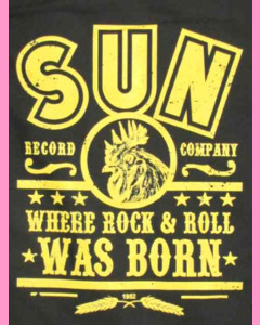 Rock `n´ Roll print on the back