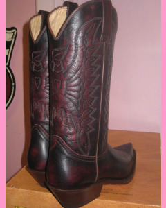 Mexico Boots, Burgundy