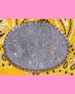Chrome Plated Oval Buckle