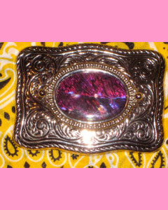 Purple Shell Buckle