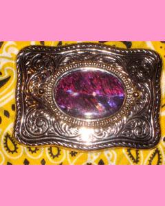 Purple Shell Buckle