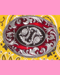 Oval Scrolls Buckle